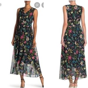 Sam Elderman Floral Midi